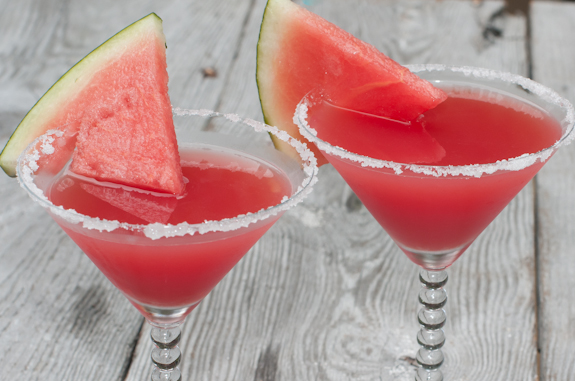 HAPPY FRIDAY the 13th ! Watermelon Martinis